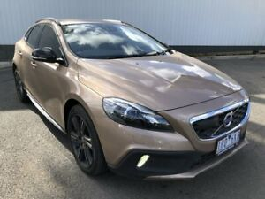 2016 Volvo V40 Cross Country M Series MY16 T5 Adap Geartronic AWD Luxury Brown 8 Speed Oakleigh Monash Area Preview