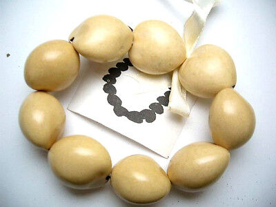 Hawaii Wedding / Graduation Kukui Nut Luau Hula Jewelry Bracelet ~#24005 (QTY 2)