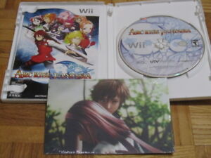 Rare Gamecube and Wii RPG games!! Tales, Arc Rise!!