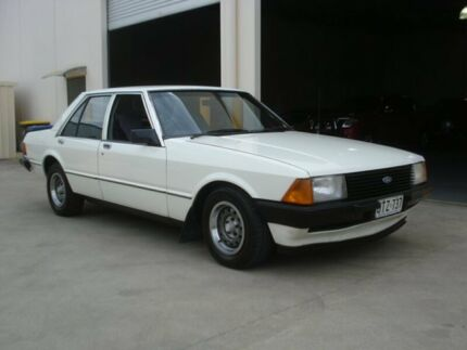 1981 Ford Falcon XD GL White 3 Speed Automatic Sedan Brompton Charles Sturt Area Preview