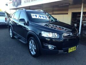 2013 Holden Captiva CG MY12 7 LX (4x4) Black 6 Speed Automatic Wagon Broadmeadow Newcastle Area Preview