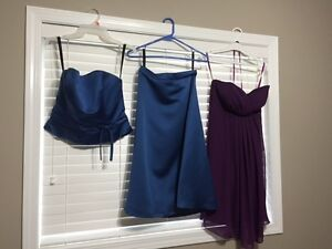 Bridesmaid, formal and non-formal dresses