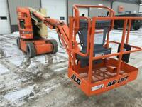 JLG E 300 AJ Indoor Boom Lift Winnipeg Manitoba Preview