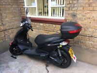 Piaggio 125 ie Scooter - Great Condition - Bargain - Passed MOT 1 month ago