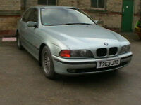 99 T REG BMW 520i SE AUTOMATIC 4 DOOR SALOON IN GLACIER GREEN METALLIC HPI CLEAR
