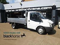 2007 Ford Transit T350 2.4TDCi Brand New Alloy Back Tipper E/W Diesel white Manu