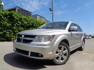 2009 DODGE JOURNEY 7 PASS, LEATHER, REAR CAM, ROOF 416-742-5464