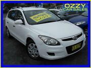 2010 Hyundai i30 FD MY10 CW SX 2.0 White 4 Speed Automatic Wagon Minto Campbelltown Area Preview