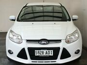 2011 Ford Focus LW Trend PwrShift White 6 Speed Sports Automatic Dual Clutch Sedan Mount Gambier Grant Area Preview
