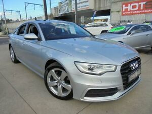 2011 Audi A6 4G Silver 7 Sports Automatic Dual Clutch Sedan Holroyd Parramatta Area Preview