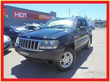 2005 Jeep Grand Cherokee WG MY2004 Laredo Black 5 Speed Automatic Wagon Holroyd Parramatta Area Preview