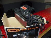 challenge belt sander 730w never used bnib+orbital sander