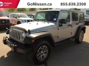2014 Jeep Wrangler Unlimited Automatic, Hard Top, Power Windows