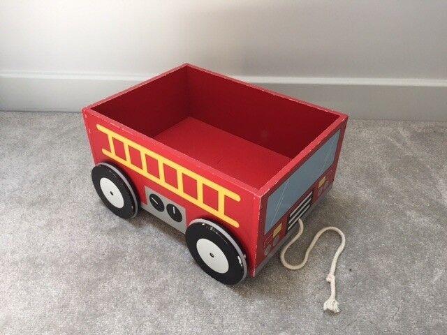 Gltc Wooden Fire Engine Book Cart In Poole Dorset Gumtree