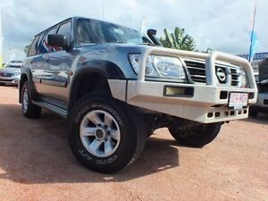 2004 Nissan Patrol GU III MY2003 ST Silver 4 Speed Automatic Wagon Rosslea Townsville City Preview