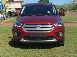 2017 Ford Escape ZG Titanium AWD Red 6 Speed Sports Automatic Wagon