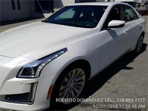2015 Cadillac CTS  Luxury AWD Crystal White Tricoat
