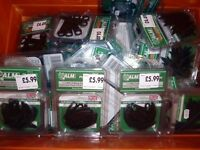 JOBLOT X150 Strimmer Trimmer Blades Lines, Spools. Flymo, Qualcast, Worx, Black & Decker