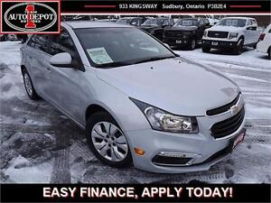 2016 Chevrolet Cruze AUTO!! BLUETOOTH!!