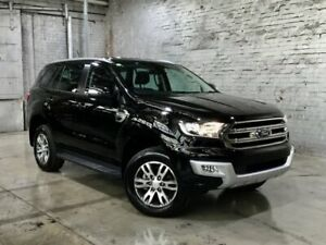 2017 Ford Everest UA Trend 4WD Black 6 Speed Sports Automatic Wagon