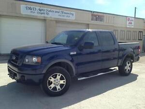 2007 Ford F-150 FX4-LEATHER-DVD-LOADED-ALLOYS
