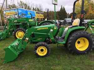 NEW JOHN DEERE 3038E - WITH LOADER - 6 YEAR WARRANTY - LOW PRICE