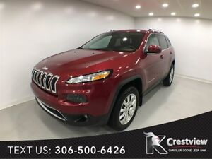 2014 Jeep Cherokee Limited 4x4 V6 | Navigation