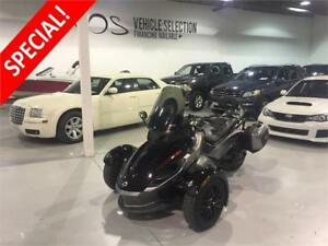 2011 Can-Am Spyder Roadster - V3295 - No Payments For 1 Year**