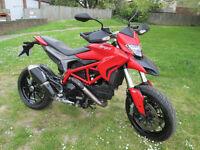 Ducati HYPERMOTARD 821cc MOTORCYCLE