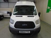 Ford Transit 2.2 Tdci 125Ps H3 High Roof Van MWB DIESEL MANUAL WHITE (2015)