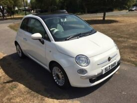 Fiat 500 twin air - Immaculate, pan roof, climate control, bluetooth,mfsw