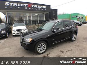 2013 BMW X3 35i  PREMIUM & EXECT PKG, ALL WHEEL DRIVE, SUNROOF