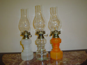 oil lamps Windsor Region Ontario image 1