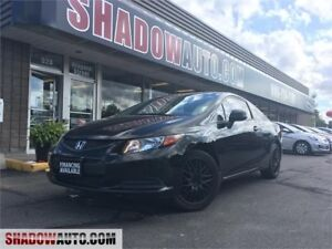 2012 Honda Civic Cpe LX, CARS, CHEAP VEHICLES, DEALS, LOANS