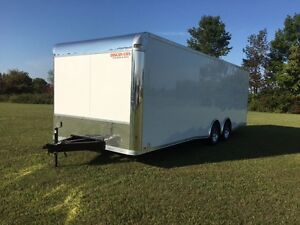 Discovery New 102 x 24 Enclosed Car hauler
