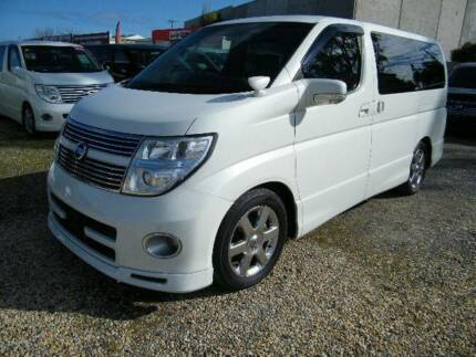 2009 Nissan Elgrand (#0937) Pearl White Moorabbin Kingston Area Preview