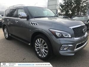 2015 Infiniti QX80 TECH/NAVIGATION/LANE DEPARTURE/AROUND VIEW MO
