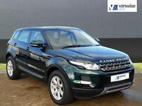 2013 Land Rover Range Rover Evoque SD4 PURE TECH Diesel green Automatic