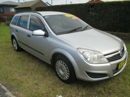 2008 Holden Astra AH MY08 CD Star Silver 4 Speed Automatic Wagon Macksville Nambucca Area Preview