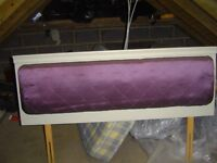 """Quilted headboard for double bed - 57"""" x 21"""" high"""