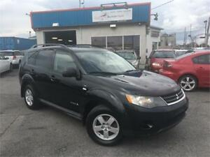 MITSUBISHI OUTLANDER 2009 XLS AWD 7 PASSAGERS / MAGS / FULL !!