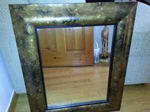 Miroir tour bronze