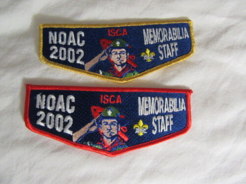 2002 NOAC Memorabilia  Staff Flap   noac