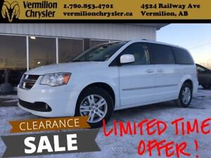 2017 Dodge Grand Caravan Crew PLUS, Leather, Blind-Spot, DVD, NA
