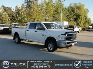 2012 DODGE RAM 3500 SLT CREW CAB LONG BOX 4X4 1 TON **DIESEL**