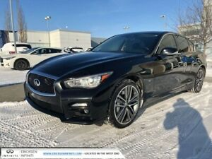2015 Infiniti Q50 SPORT TECH/ALL WHEEL DRIVE/HEATED SEATS/BLIND
