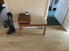 Telephone table good condition