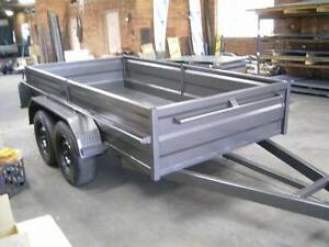 BRAND NEW 10X5 HEAVY DUTY HIGH SIDE TANDEM TRAILER Carlton Kogarah Area Preview