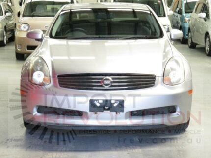 2003 Nissan Skyline Silver Sports Automatic Coupe