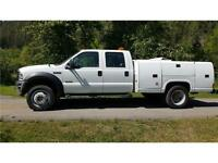 2007 Ford 4X4 Super Duty F-450 DRW XL SERVICE BODY  117,430 KMS